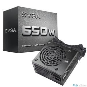 EVGA Power Supply 100-N1-0650-L1 650W +12V 120mm Fan ATX Retail