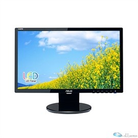 Asus VE228H 21.5 LED LCD Monitor - 16:9 - 5 ms Adjustable Display Angle - 1920 x 1080 - 16.7 Million Colors - 250 cd/m - 10,000,000:1 - Full HD - DVI - HDMI - VGA - Speakers - Black - ENERGY STAR, WEEE