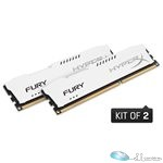 8GB 1600MHz DDR3 CL10 DIMM (Kit of 2) HyperX FURY White