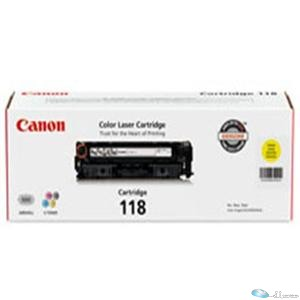Canon Cartridge 118 Yellow Toner Cartridge for us in imageCLASS LBP7200Cdn LBP76