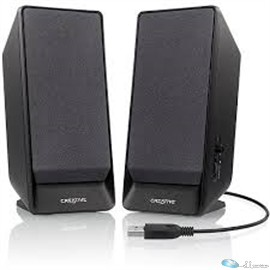 Creative Labs Speakers 51MF1675AA002 Creative A50 USB-powered 2.0 Black Retail