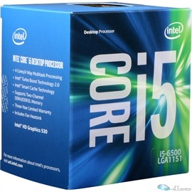 Core i5-6500 (Skylake), up to 3.60 GHz Turbo Boost, LGA1151, 6MB Cache, 4 cores/