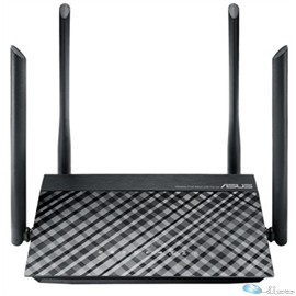 Asus RT-AC1200 Ethernet Wireless Router 2.40 GHz ISM Band - 5 GHz UNII Band(4 x External) - 1200 Mbit/s Wireless Speed - 4 x Network Port - 1 x Broadband Port - USB - Fast Ethernet - Desktop