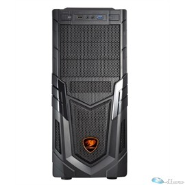 Cougar Case VOLANT Middle Tower 3/1/(6) USB 3.0 No Power Supply Micro-ATX/ATX Black Retail