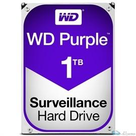 WD PURPLE 1TB SATA 6 GB/S 64MB INTELLIPOWER 3.5  3 YEARS WARRANTY