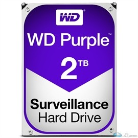WD PURPLE 2TB SATA 6 GB/S 64MB INTELLIPOWER 3.5  3 YEARS WARRANTY