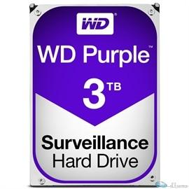 WD PURPLE 3TB SATA 6 GB/S 64MB INTELLIPOWER 3.5  3 YEARS WARRANTY