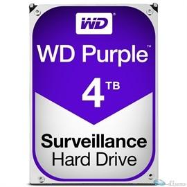 WD PURPLE 4TB SATA 6 GB/S 64MB INTELLIPOWER 3.5  3 YEARS WARRANTY