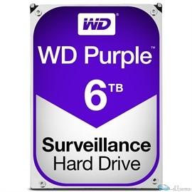 WD PURPLE 6TB SATA 6 GB/S 64MB INTELLIPOWER 3.5  3 YEARS WARRANTY