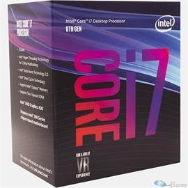 Intel Core i7 i7-8700 Hexa-core (6C 12T) 3.2GHz / 4.3GHz Turbo Processor - Socket 1151 - Retail Pack - 12 MB Cache - 64-bit - Intel HD Graphics Graphics - 65 W OPTANE READY VPRO