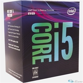 Intel Core i5 i5-8400 Hexa-core (6 Core) 2.8GHz / (3.8GHz Turbo) Processor - Socket 1151 Retail Pack - 9 MB Cache - 64-bit - Intel HD Graphics Graphics - 65 W - OPTANE READY