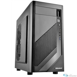 Cougar Case MG110 Mini-Tower micro-ATX USB3.0 peforated side panel Retail