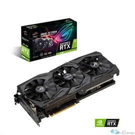 ASUS Video Card ROG-STRIX-RTX2060-O6G-GAM GeForce RTX2060 6GB GDDR6 192B HDMI/DP Retail