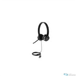 Lenovo 100 Headset - Stereo - USB - Wired - Over-the-head - Binaural