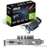 Asus 710-2-SL-CSM GeForce GT 710 Graphic Card - 954 MHz Core - 2 GB GDDR3 - PCI Express 2.0 x8