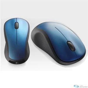 LOGITECH WIRELESS MOUSE M310 - PEACOCK BLUE