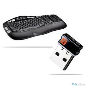 Logitech KB 920-001996 Wireless K350 Keyboard Black Retail