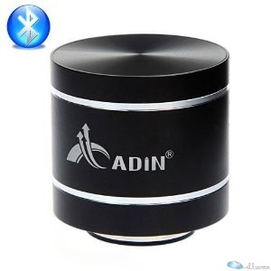 ADIN BLUETOOTH VIBRATION SPEAKER D1BT BLACK