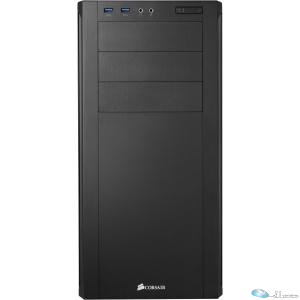 Carbide Series 200R Windowed Compact ATX Case (BLACK), USB 2.0, Mesh Side Panel,