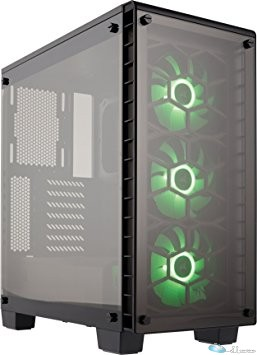 CRYSTAL 460X RGB GLASS ATX M-TOWE CASE