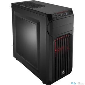 Carbide Series SPEC-01 Mid Tower Gaming Case w/ Side Window, Blue LED Fan, 1xFro