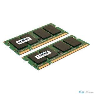 CRUCIAL 2X4GB DDR2 SODIM 800