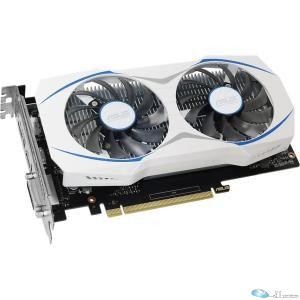 Asus DUAL-GTX1050TI-O4G GeForce GTX 1050 TI Graphic Card - 1.34 GHz Core - 1.46 GHz Boost Clock - 4 GB GDDR5 - PCI Express 3.0 - Dual Slot Space Required