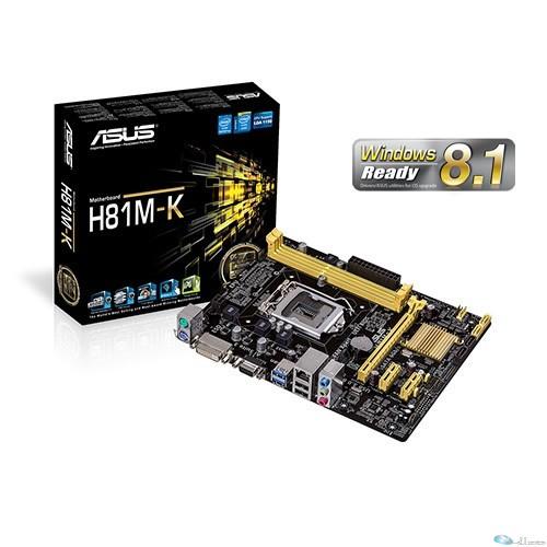 Intel H81 2x DDR3 1600/1333/1066 up to 16G,1 x D-Sub + 1 x DVI,1 x PCIEx16, 2 x PCIEx1