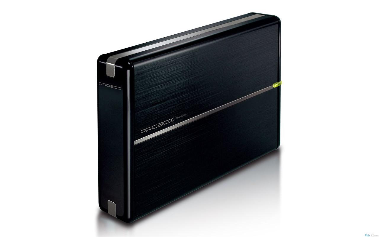 Mediasonic ProBox 3.5-inch SATA hard drive enclosure - USB 3.0 Interface (Alumin