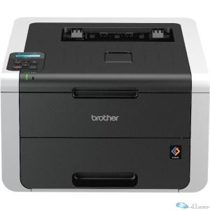 Brother HL-3170CDW LED Printer - Color - 2400 x 600 dpi Print - Plain Paper Print - Desktop - 23 ppm Mono / 23 ppm Color Print - 250 sheets Input - 30000 pages per month - Automatic Duplex Print - LCD - Ethernet - Wireless LAN - USB