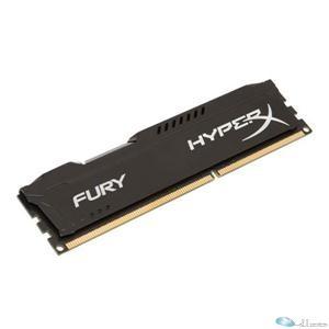 4GB HyperX Fury Black DDR3, 1600MHz, CL10, 1.5V, 240-pin DIMM