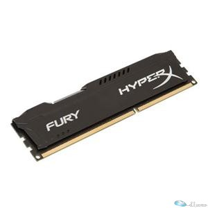 4GB HyperX Fury Black DDR3, 1866MHz, CL10, 1.5V, 240-pin DIMM