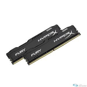 FURY Memory Black - 32GB Kit(2x16GB) - DDR4 2400MHz CL15 DIMM