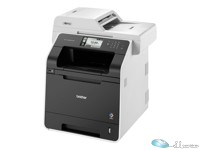 Brother MFC-L8850CDW - Multifunction printer - color - laser - Legal (8.5 in x 14 in) (original) - A4/Legal (media) - up to 32 ppm (copying) - up to 32 ppm (printing) - 300 sheets - 33.6 Kbps - USB 2.0, LAN, Wi-Fi(n), USB host