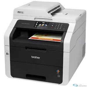 Brother MFC-9330CDW LED Multifunction Printer - Color - Plain Paper Print - Desktop - Copier Fax Printer Scanner - 22 ppm Mono/22 ppm Color Print - 2400 x 600 dpi Print - 22 cpm Mono/22 cpm Color Copy - Support Plain Paper - 1, 1, 1 x Input Tray, Duplex Automatic Document Feeder, Output Tray 250, 35