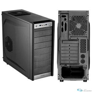 Antec One Computer Case - Mid-tower - Black - 10 x Bay - 2 x 4.72 (120 mm) x Fan(s) Installed - ATX, Micro ATX, Mini ITX Motherboard Supported - 4.90 kg - 5 x Fan(s) Supported - 3 x External 5.25 Bay - 5 x Internal 3.5 Bay