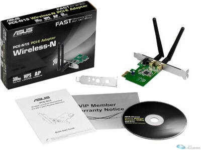 Wireless N300 PCI-E Adapter