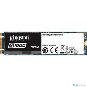 Kingston SSD SA1000M8 960G 960GB A1000 PCIe Gen3x2 NVMe (M.2 2280) Retail