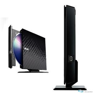 ASUS 8X DVD-RW SLIM EXTERNAL, BLACK DIAMOND, RETAIL, NO STAND,for PC,Mac,and Lap