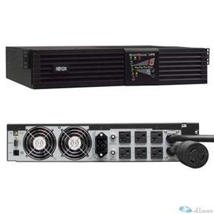 Tripp Lite UPS SU3000RTXL2U SmartOnline 3kVA On-Line 2500W USB Serial EPO Retail