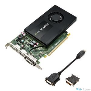 PNY Video Card VCQK2200-PB Quadro K2200 4GB DDR5 DVI/DisplayPort Retail