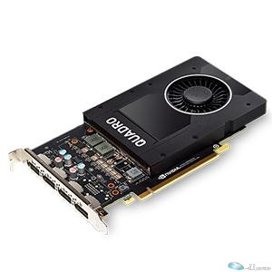 NVIDIA Quadro  P2000 - PCI Express 3.0 x16 - 5 GB - GDDR5 SDRAM